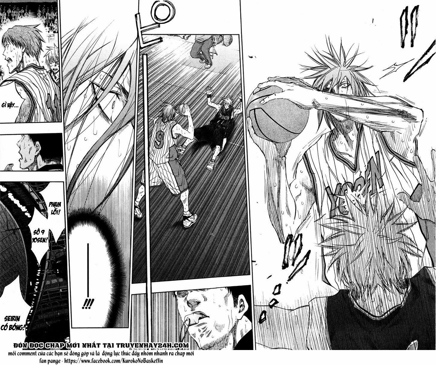 Kuroko No Basket chap 159 trang 7