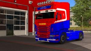 Hanstholm paint job for Scania RJL