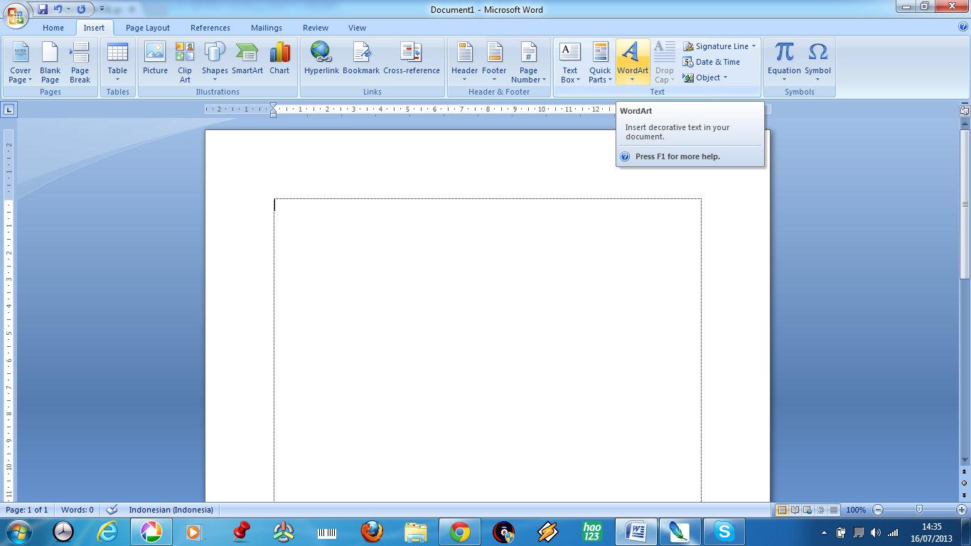 cara menyisipkan clipart pada microsoft word 2007 - photo #13