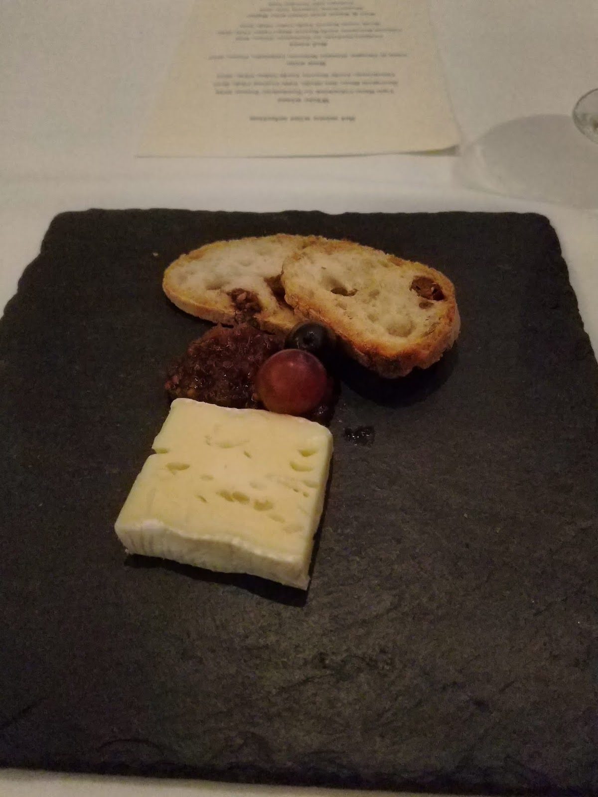 Baron Bigod, chutney & raisin bread at Galvin at Windows