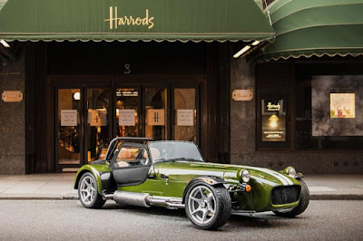 Caterham Seven 420S Harrods Edition (2016) Front Side