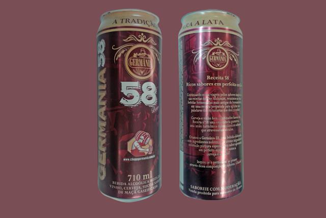 Cerveja Germânia 58: a união do chopp e do vinho