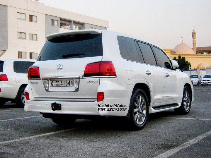 Modified Cars And Trucks Lexus Land Cruiser Modified