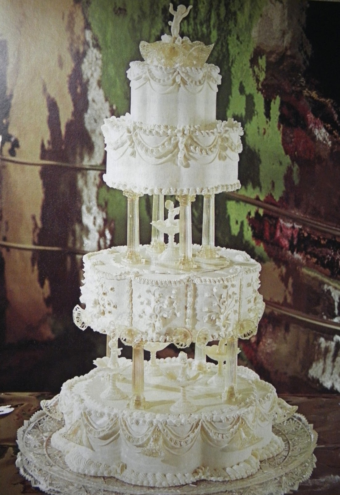 wilton wedding cake decorations things by david vintage wilton yearbook 27515