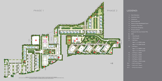 Site Plan - Tata Primanti