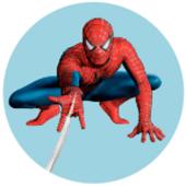 Oblea para tartas Spiderman