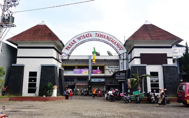 Gapura Pasar Wisata Tawangmangu, Karanganyar
