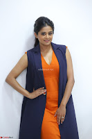 Priyamani in Beautiful Short Deep neck Orange Dress ~  Exclusive 03.JPG