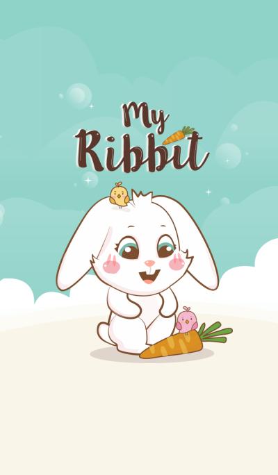 My Rabbit Lover. (Blue ver.)