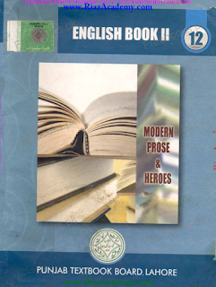 ENGLISH Book II for 12th Class - Punjab Text Books