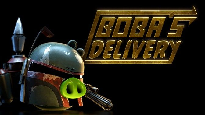 Angry Birds Star Wars Boba´s Delivery