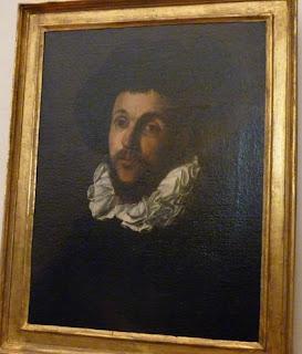 Autorretrato de Caravaggio.