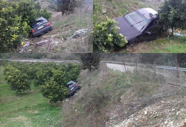Τροχαίο ατύχημα στο Ράγιο Θεσπρωτίας (+ΦΩΤΟ)