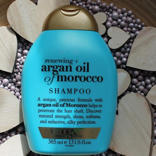 [Review] OGX - Shampoo Moroccan Organ Oil
