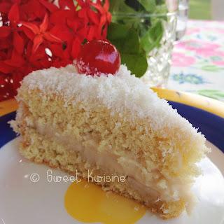 sweet kwisine, gâteaux, patisserie, cuisine antillaise, martinique, guadeloupe, gâteau à l'ananas, mont blanc au coco, pudding, amour-caché, tourment d'amour
