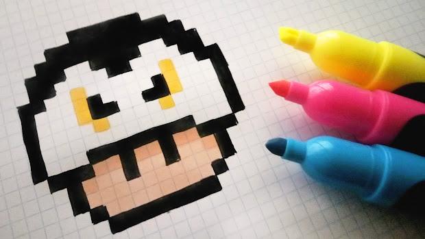 Art Pixel Art Facile Nourriture Kawaii