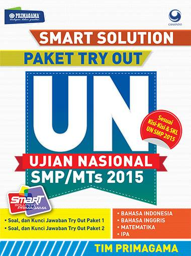 Paket Try Out UN SMP MTs 2015