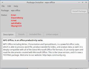 Menginstal WPS Office di LInux Xubuntu 16.10