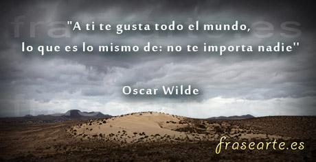 Frases célebres de Oscar Wilde