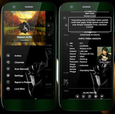 BBM Black Mawar Hitam Special Edition v3.2.0.6 APK