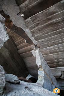Cava di molera a Malnate pilastro