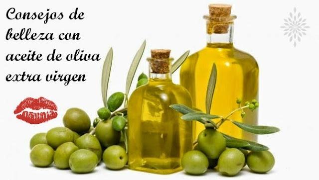 consejos de belleza con aceite de oliva extra virgen