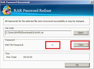 Cara Mudah Membuka Paksa File RAR Dan Zip Yang Di Password