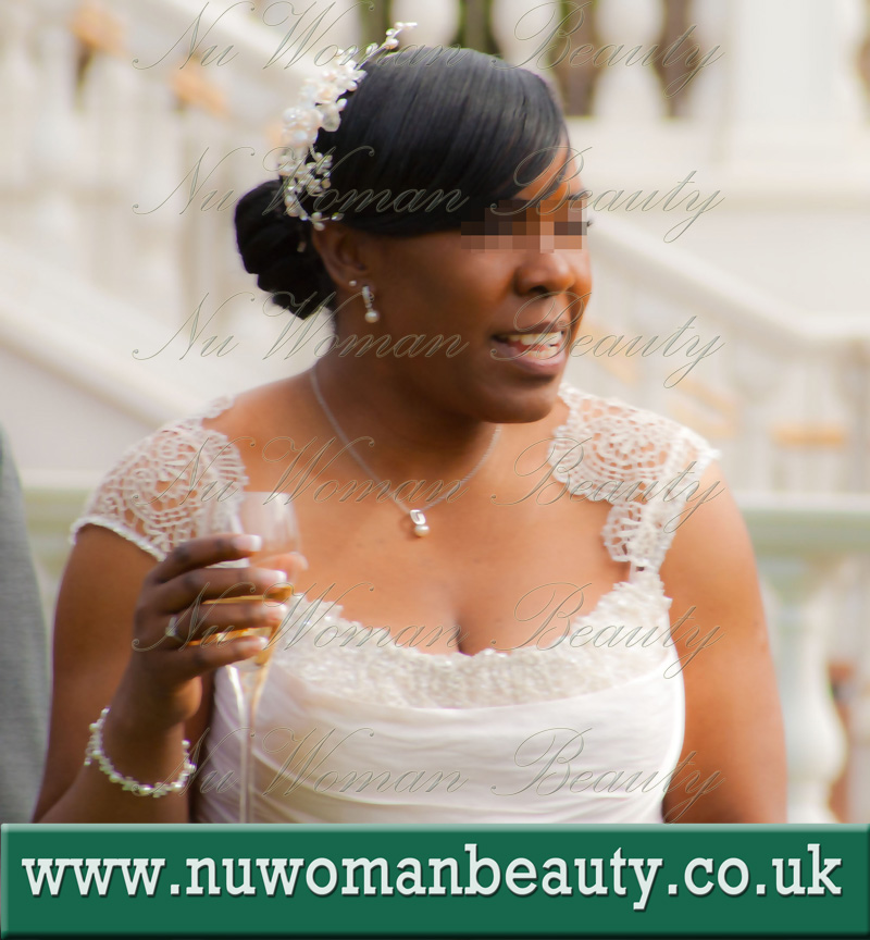 Mobile Bridal Afro Hair Makeup Artist For Black Skin
