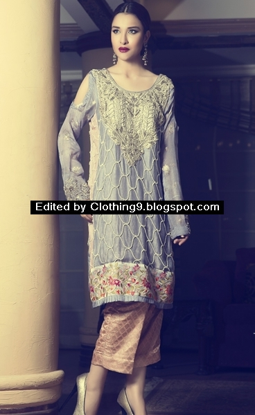 Pakistani Party Wear Dresses 2017 Images 44