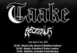 Concierto de TAAKE + AETERNUS en Bogotá