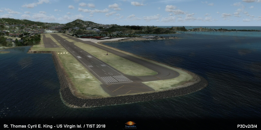 FSX/P3Dv3/P3Dv4] - Tropicalsim - ST Thomas Cyril E King TIST