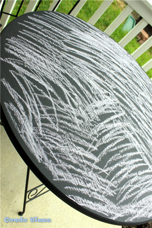how to season chalkboard paint