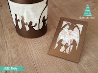 come realizzare una shaker card e una lanterna in paper cutting