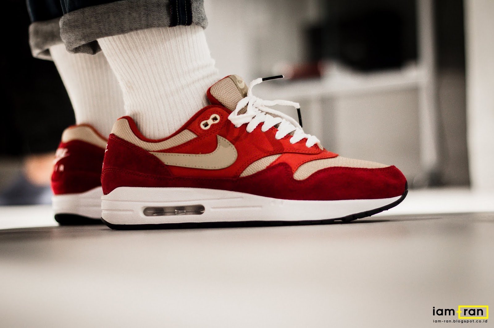 0e5fe92e07 ... coupon code for on feet zulfikar ali nike air max 1 red curry 23e98  3e3a0 ...