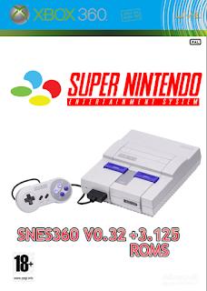 Emulador Snes360 v0.32 + 3125 ROMS (XBOX360)