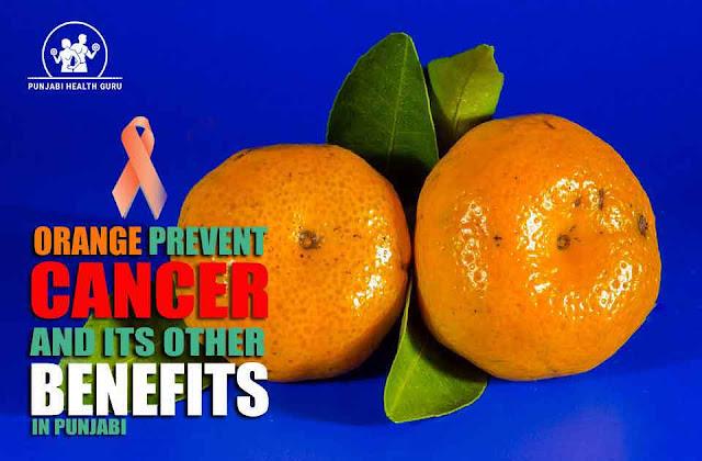 ਸੰਤਰੇ ਦੇ ਕੈਂਸਰ ਤੋਂ ਬਚਾਅ ਤੇ ਹੋਰ ਫਾਇਦੇ / Orange Prevent Cancer and its Other Benefits in Punjabi