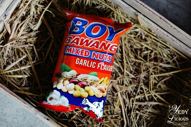 Boy Bawang Mixed Nuts Boy Bawang New Products, Boy Bawang Best Local Snacks in the Philippines, Boy Bawang KSK Food Products Blog Review YedyLicious Manila Food Blog Yedy Calaguas