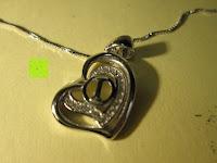 Erfahrungsbericht: Morella® Damen Halskette Herz Buchstabe I 925 Silber rhodiniert mit Zirkoniasteinen weiß 46 cm