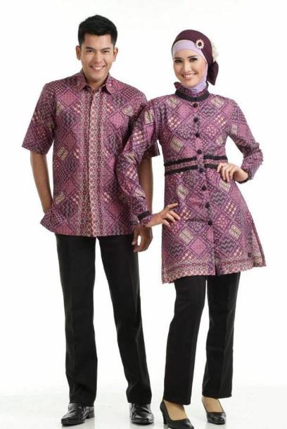 Koleksi Baju Batik Couple Muslim - Batik Indonesia