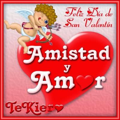 Tarjetas San Valentín brillos