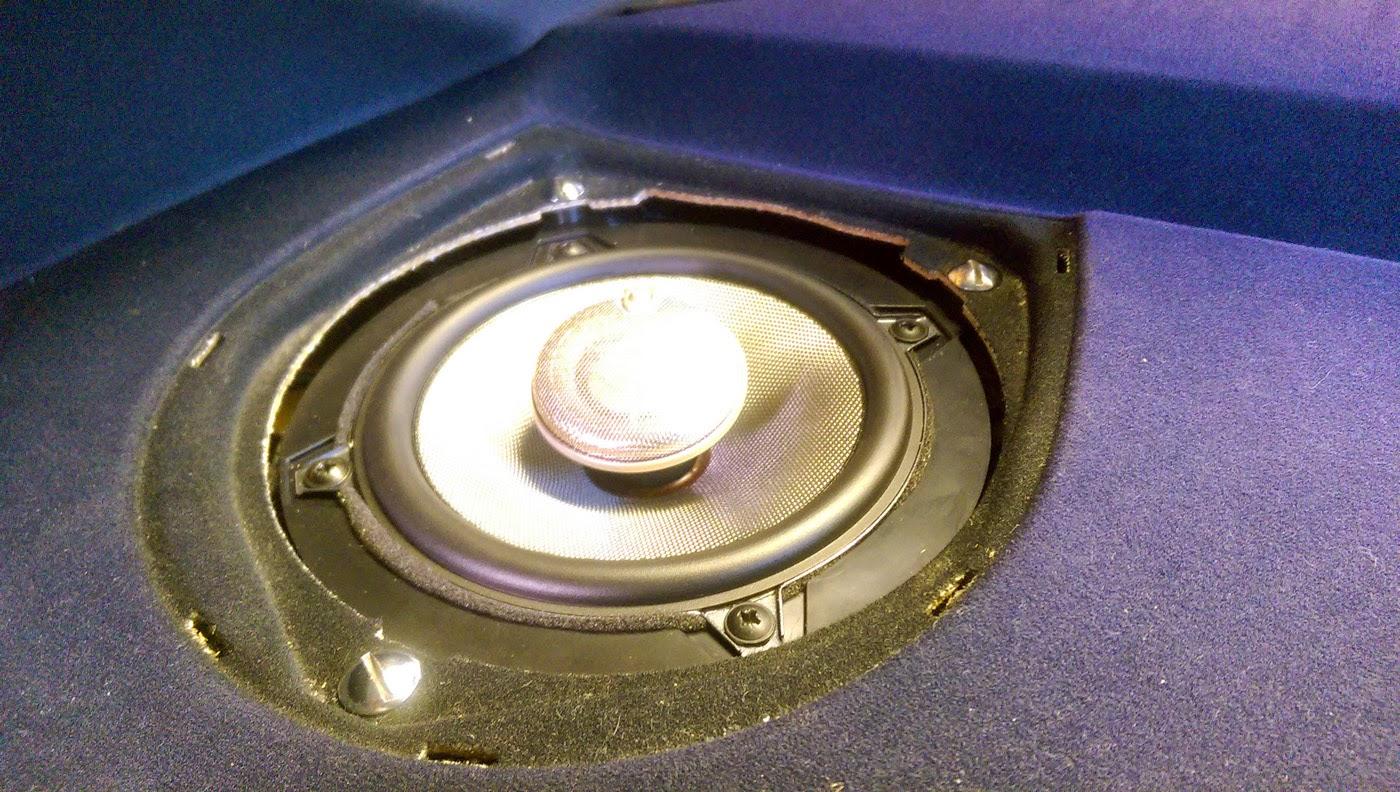 bmw e46 rear speaker replaced [ 1400 x 792 Pixel ]