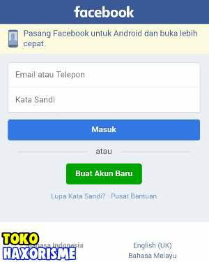 Web Phising Facebook True Login