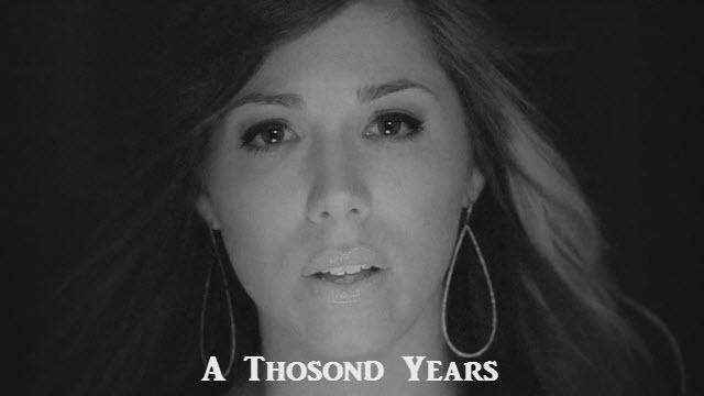 A Thousond Years Christina Perri Piano Notes