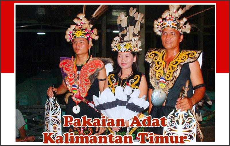 pakaian adat kalimantan timur lengkap nama gambar dan rh sejarah negara com
