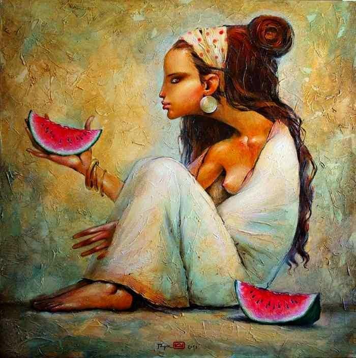 Болгарский художник. Гари Николай Ангелов