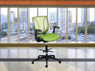 Global Total Office Roma Drafting Stool at OfficeFurnitureDeals.com