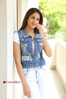 Telugu Actress Lavanya Tripathi Latest Pos in Denim Jeans and Jacket  0058.JPG