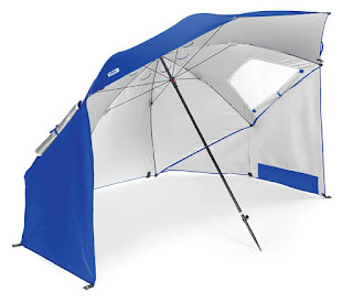 sports beach umbrella