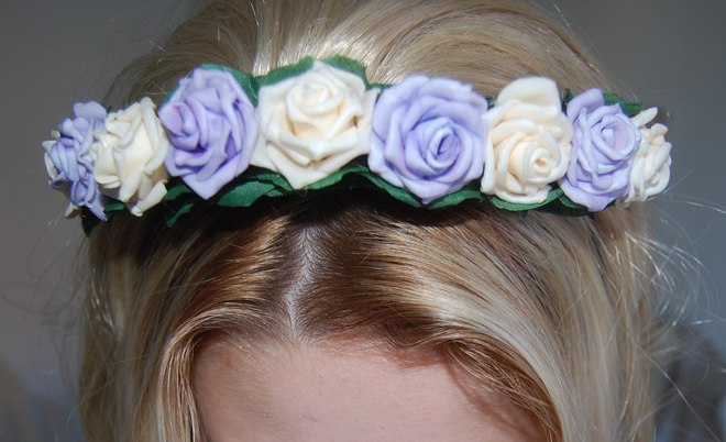 prairie charms flower crown