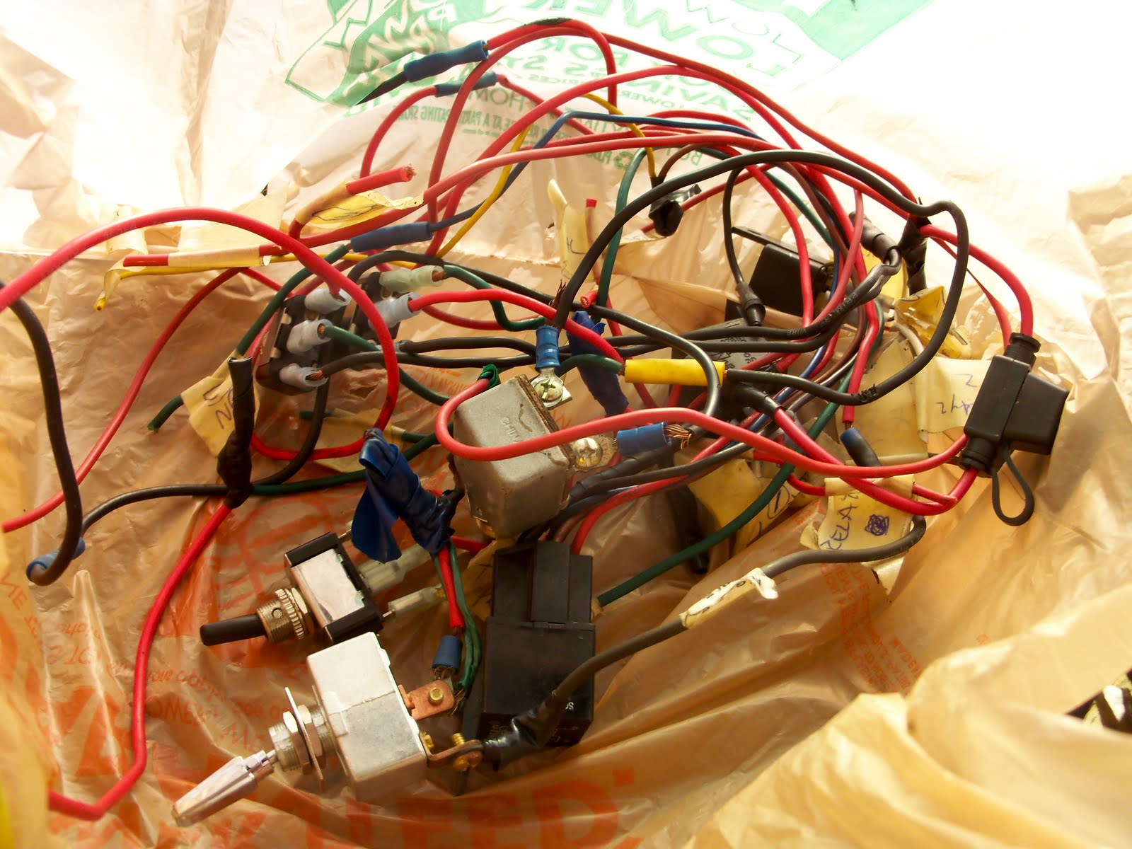 Ziptied Z Wiring 1o1 Scary Electrical It Was